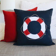 Load image into Gallery viewer, Life Preserver Pillow