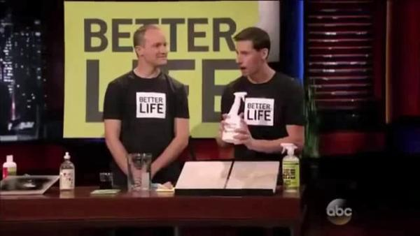 Better Life Cleaning Products on Shark Tank