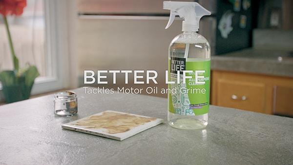 Better Life Tackles Motor Oil and Grime
