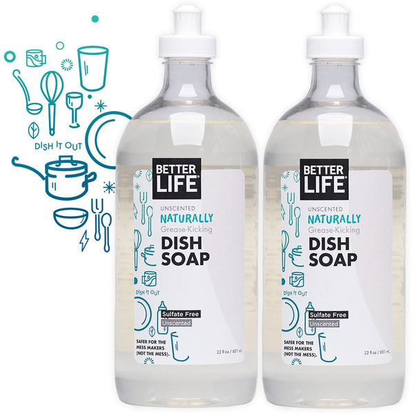 Two Pack Dish Soap