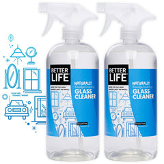 Two Pack Glass Cleaner