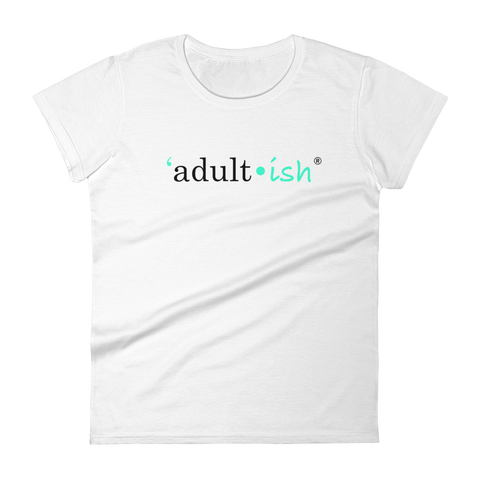Women's Adult-ish Crewneck T-shirt