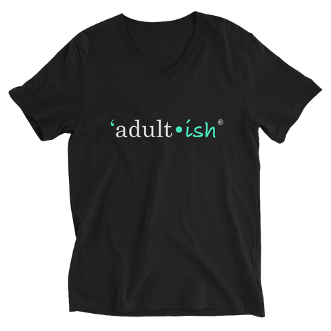 Male Adult-ish V-Neck T-Shirt