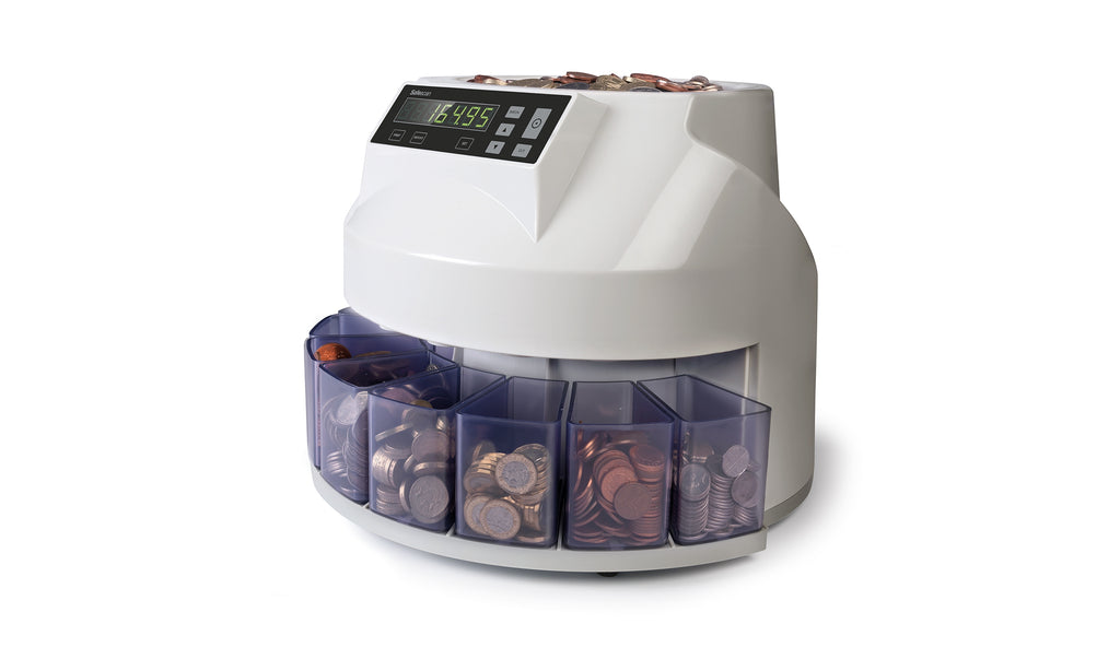 Safescan 1250 Coin Counter And Sorter
