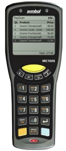 Motorola MC1000 Inventory Scanner with CRD1000 Base