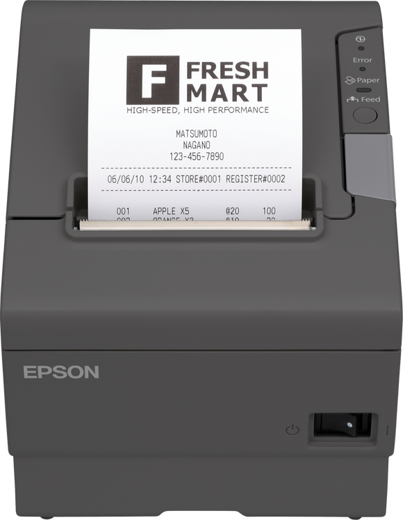 Epson TM-T88v Receipt Printer USB or Serial Connection