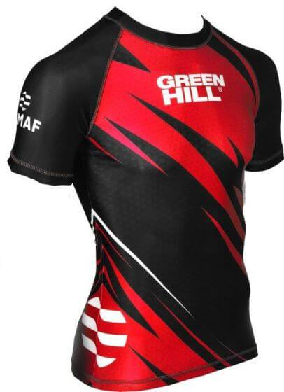 GREEN HILL IMMAF GODKJENT RASH GUARD