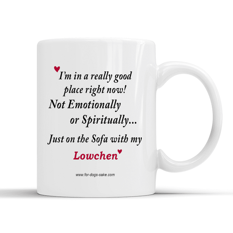 For Dogs Sake! Default Title Lowchen White Glossy Mug