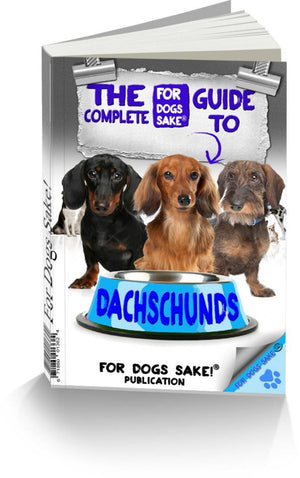 For Dogs Sake! Download Default Title The Complete Guide to Miniature Daschund