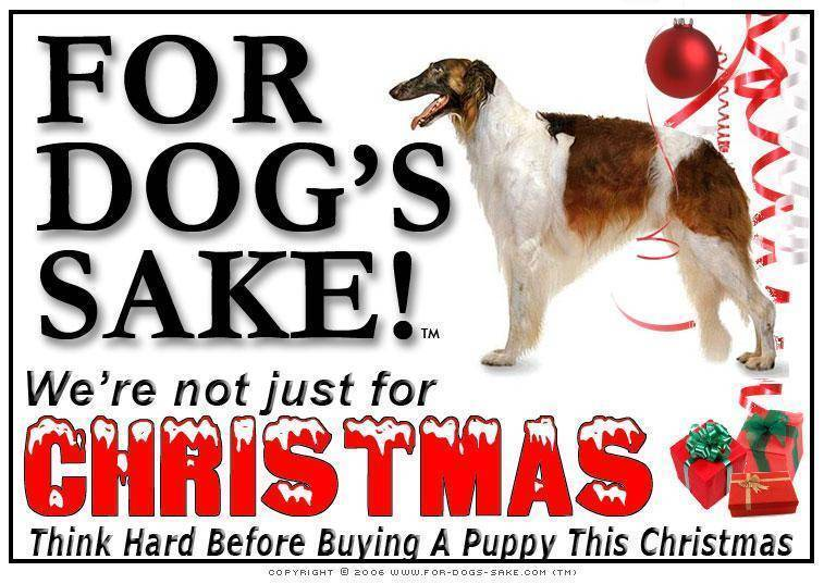 For Dogs Sake! Download Default Title Borzoi Heatstroke Christmas Message (Download)
