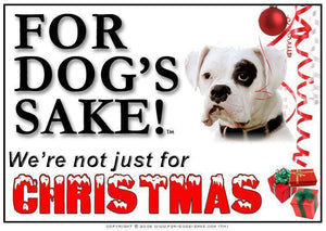 For Dogs Sake! Download Default Title Boxer Dog Christmas Message (Download)