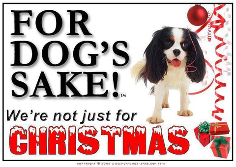 For Dogs Sake! Download Default Title Cavalier King Charles Spaniel Christmas Message (Download)