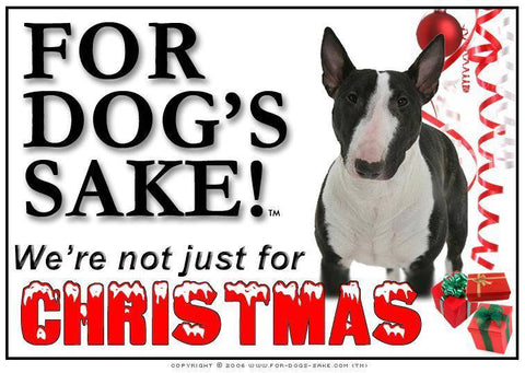 For Dogs Sake! Download Default Title English Bull Terrier Christmas Message (Download)