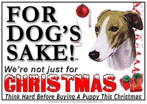 For Dogs Sake! Download Default Title Greyhound Christmas Message (Download)