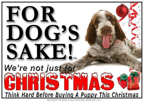 For Dogs Sake! Download Default Title Italian Spinone Christmas Message (Download)