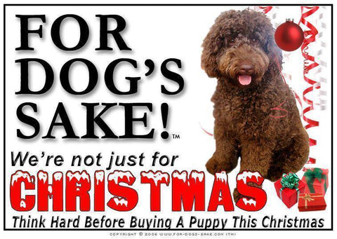 For Dogs Sake! Download Default Title Labradoodle Christmas Message (Download)