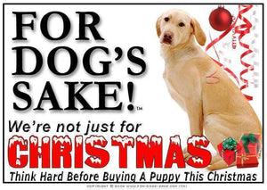 For Dogs Sake! Download Default Title Labrador Retriever Christmas Message (Download)
