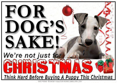 For Dogs Sake! Download Default Title Whippet Christmas Message (Download)