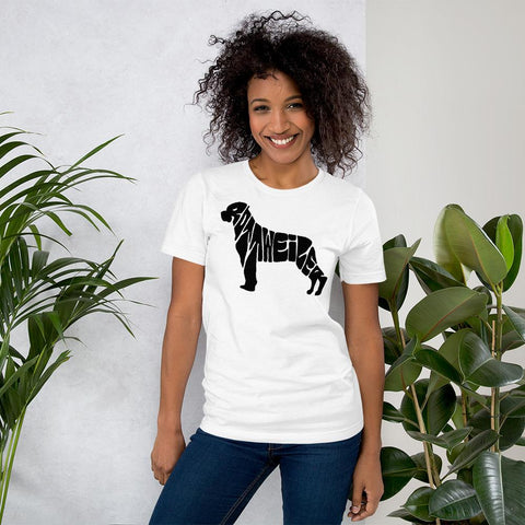 Image of For Dogs Sake! White / XS Rottweiler T-Shirt by For Dog's Sake!®