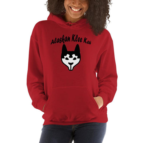 Image of For Dogs Sake! Red / S Alaskan Klee Kai Hoodie by For Dog's Sake!®