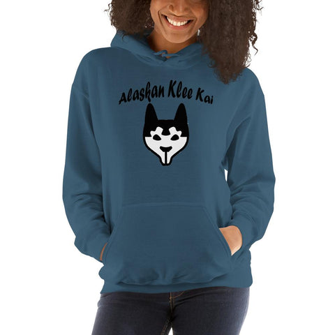 Image of For Dogs Sake! Indigo Blue / S Alaskan Klee Kai Hoodie by For Dog's Sake!®