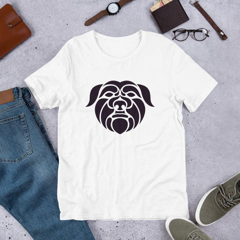 Image of For Dogs Sake! White / XS Affenpinscher Short-Sleeve Unisex T-Shirt