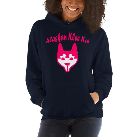 For Dogs Sake! Navy / S Alaskan Klee Kai Hoodie by For Dog's Sake!®