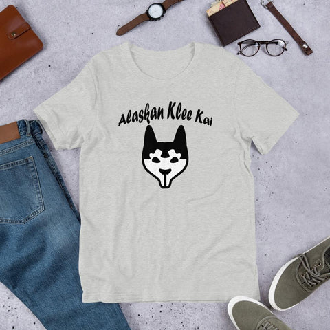 For Dogs Sake! Athletic Heather / S Alaskan Klee Kai Short-Sleeve Unisex T-Shirt by For Dog's Sake!®