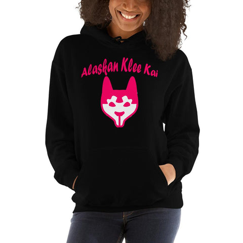 For Dogs Sake! Black / S Alaskan Klee Kai Hoodie by For Dog's Sake!®