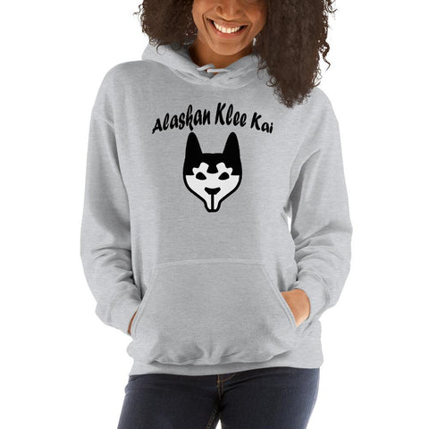 Image of For Dogs Sake! Sport Grey / S Alaskan Klee Kai Hoodie by For Dog's Sake!®