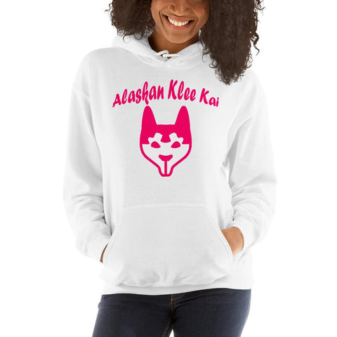 For Dogs Sake! White / S Alaskan Klee Kai Hoodie by For Dog's Sake!®