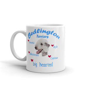 Bedlington Terrier Blue Big Hearted & Affectionate Mug
