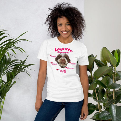 For Dogs Sake! Navy / XS Lagotto Romagnolo Loyal & Friendly T-Shirt