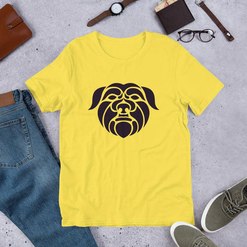 Image of For Dogs Sake! Yellow / S Affenpinscher Short-Sleeve Unisex T-Shirt