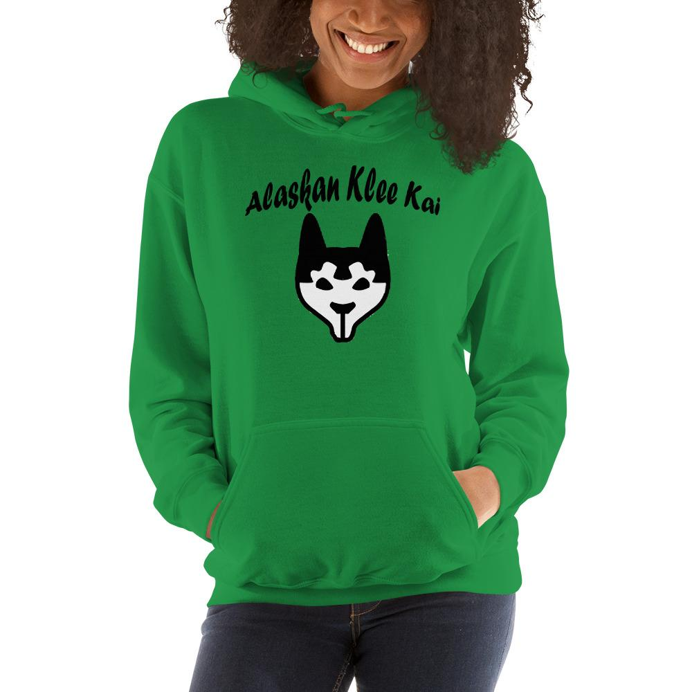 For Dogs Sake! Irish Green / S Alaskan Klee Kai Hoodie by For Dog's Sake!®