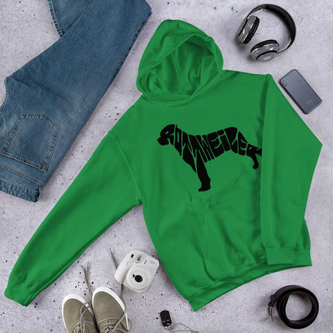 For Dogs Sake! Irish Green / S Hooded Sweatshirt by For Dog's Sake!®