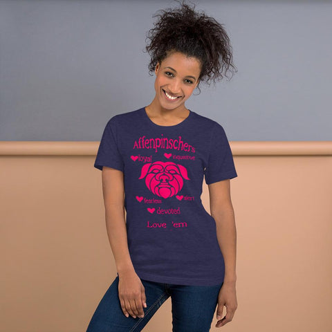 For Dogs Sake! Heather Midnight Navy / XS Short-Sleeve Unisex T-Shirt