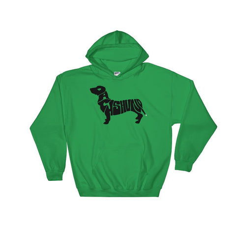 For Dogs Sake! Irish Green / S Dachshund Hoodie by For Dog's Sake!®