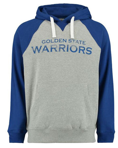 Golden State Warriors Azul e Cinza - Moletom Hoodie