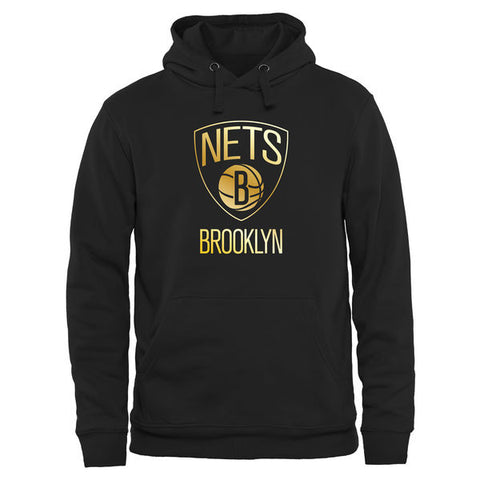 Brooklyn Nets Gold Collection Pullover - Moletom Hoodie