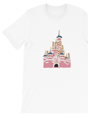 25th Anniversary Castle Short-Sleeve Unisex T-Shirt