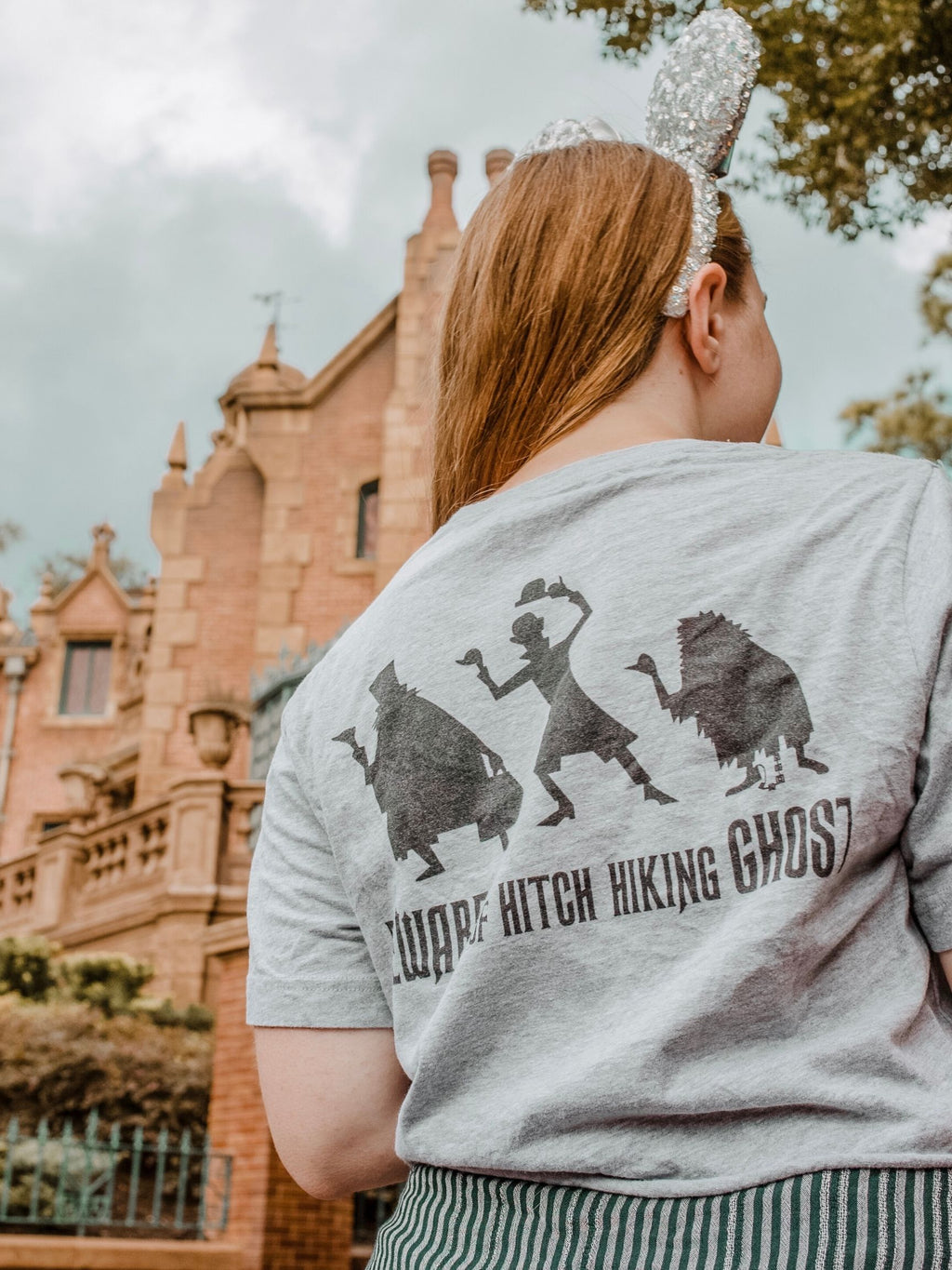 Haunted Mansion Inspired Short-Sleeve Unisex T-Shirt