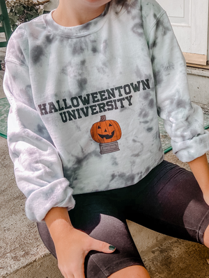 Halloweentown University Tie Dye Sweatshirt