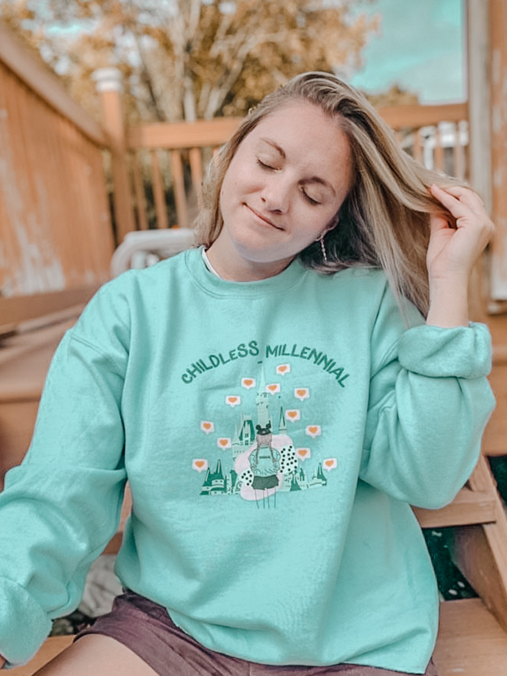 Childless Millennial Unisex Sweatshirt