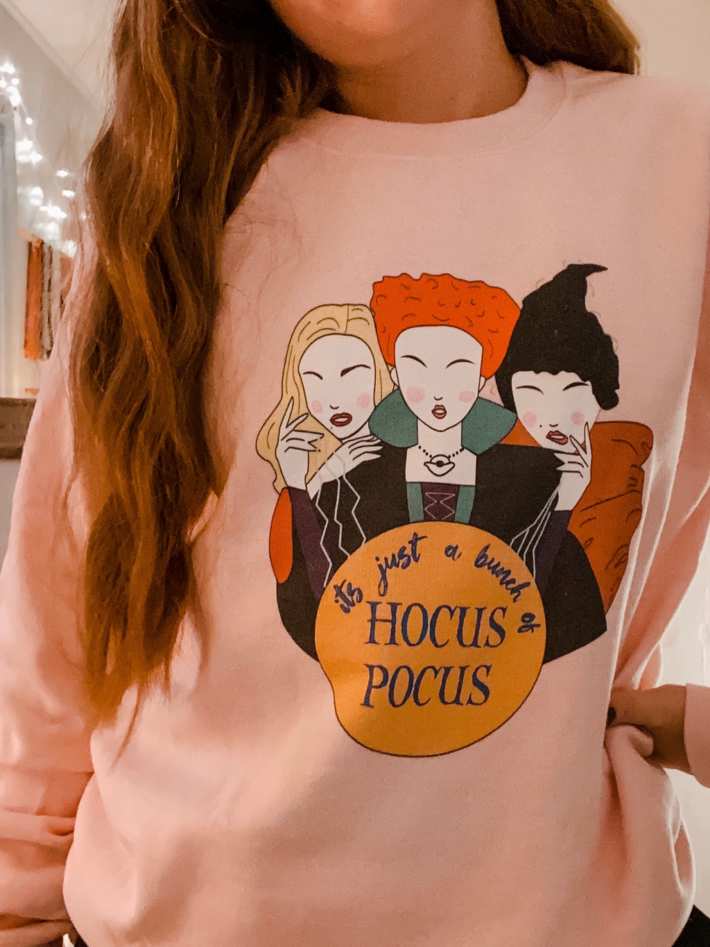 Its Just a Bunch of Hocus Pocus Unisex Sweatshirt