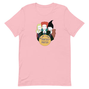 Its Just A Bunch Of Hocus Pocus Short-Sleeve Unisex T-Shirt