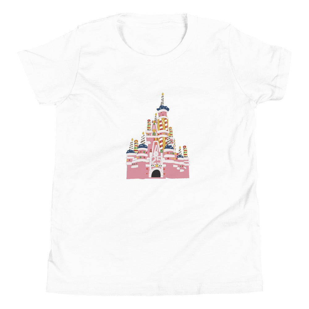 25 Anniversary Castle Youth Short Sleeve T-Shirt