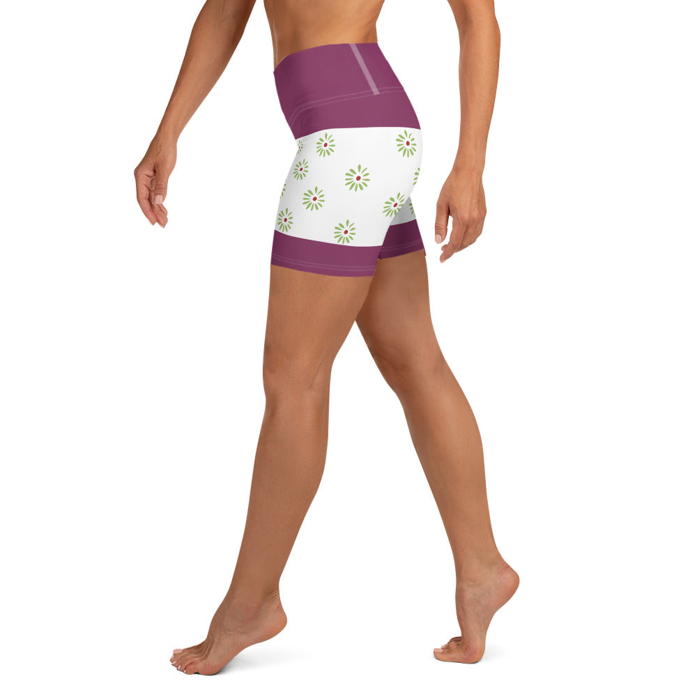 Haunted Mansion Tightroper Yoga Shorts