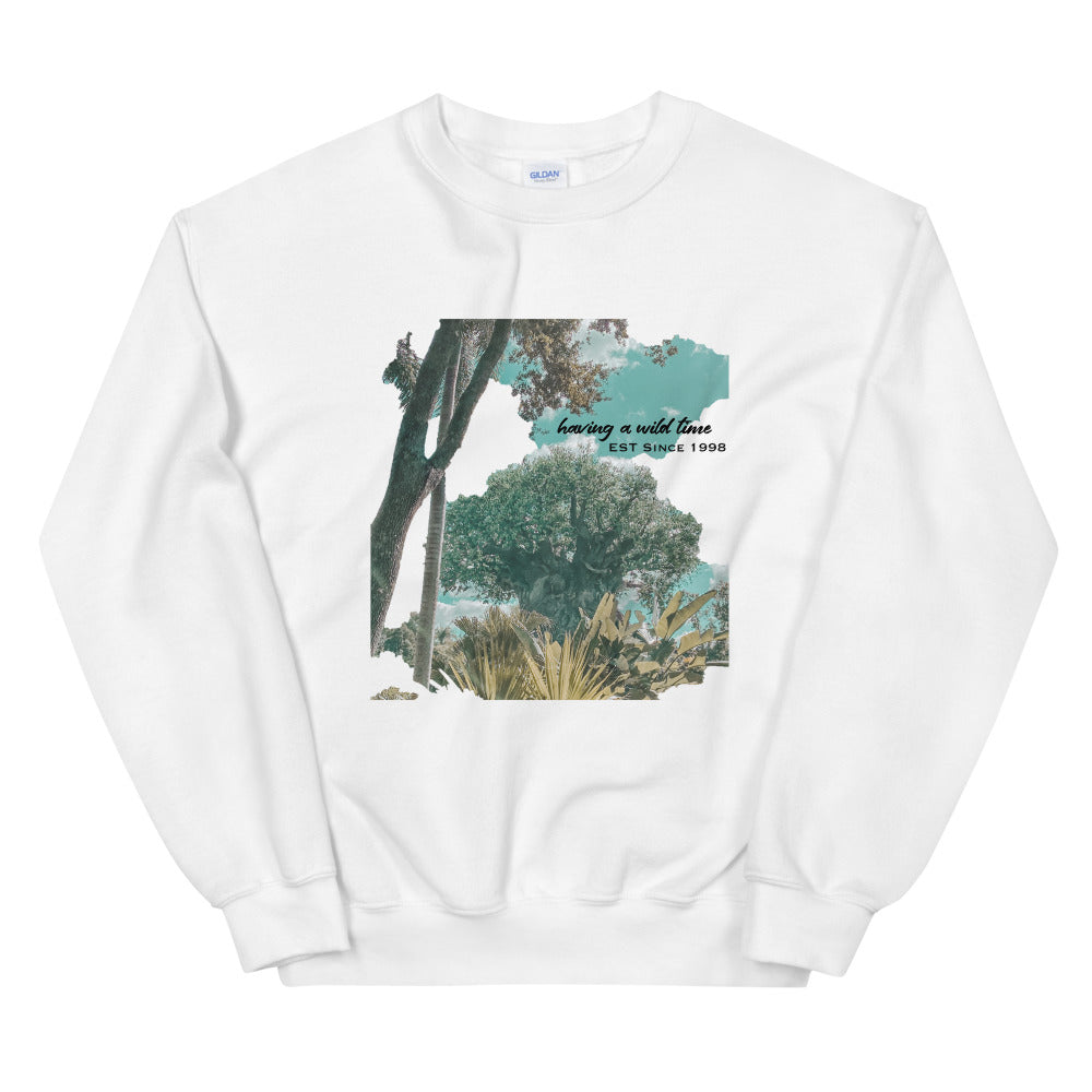 Vintage Animal Kingdom Unisex Sweatshirt