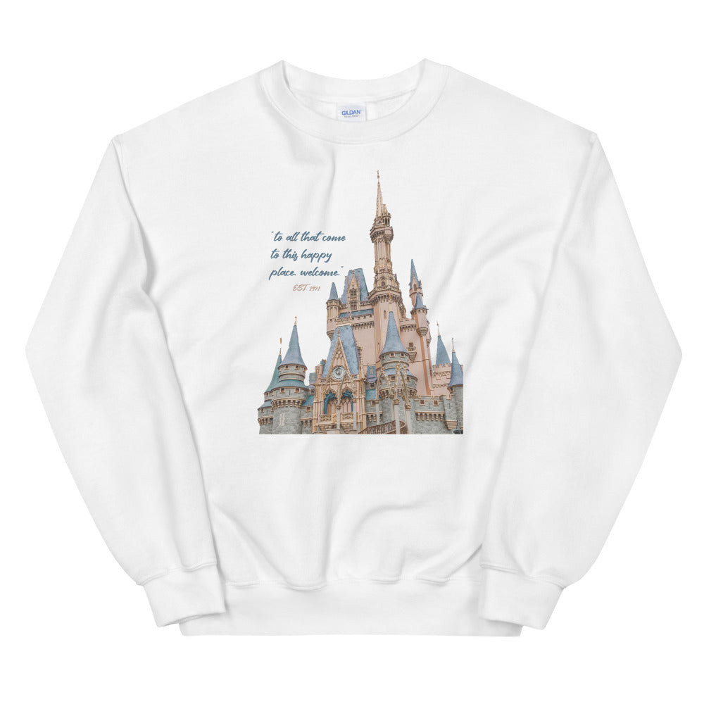 Vintage Magic Kingdom Unisex Sweatshirt